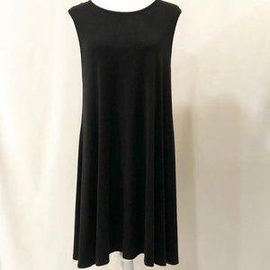 Adrienne Vittadini Black Dress.  Size XL